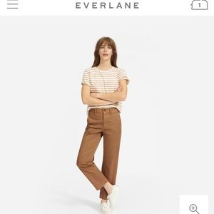 Everlane - the lightweight relaxed chino - ochre